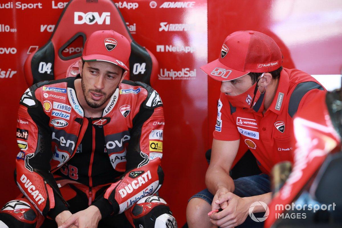 Andrea Dovizioso, Ducati Team, Michel Pirro