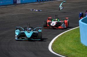Sam Bird, Jaguar Racing, Jaguar I-TYPE 5, Lucas Di Grassi, Audi Sport ABT Schaeffler, Audi e-tron FE07