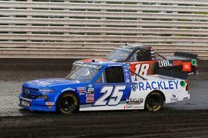 Josh Berry, Rackley W.A.R., Chevrolet Silverado Rackley Roofing, Chandler Smith, Kyle Busch Motorsports, Toyota Tundra JBL