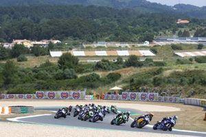 Federico Caricasulo, GMT94 Yamaha, mène au départ