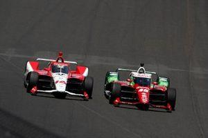 Santino Ferrucci, Rahal Letterman Lanigan Racing Honda, Simona De Silvestro, Paretta Autosport Chevrolet
