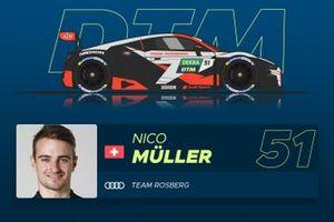 Nico Muller, Team Rosberg