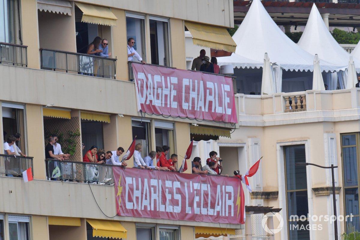 Fans de Charles Leclerc, Ferrari
