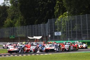 #7 Toyota Gazoo Racing Toyota GR010 - Hybrid: Mike Conway, Kamui Kobayashi, Jose Maria Lopez - Race Start, 6 hours of Monza