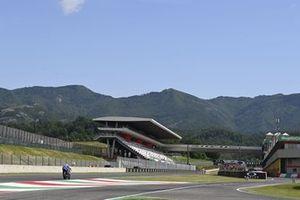 Alex Rins, Team Suzuki MotoGP, empty grandstands