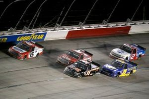 Tanner Gray, Team DGR, Ford F-150 Ford Performance, Todd Gilliland, Front Row Motorsports, Ford F-150 Black's Tire, Timothy Peters, Rackley W.A.R., Chevrolet Silverado Rackley Roofing, Sheldon Creed, GMS Racing, Chevrolet Silverado GMS Racing