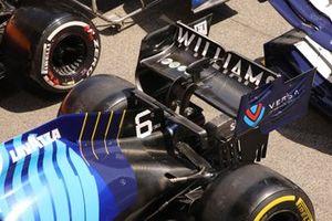 Детали заднего антикрыла Williams FW43B
