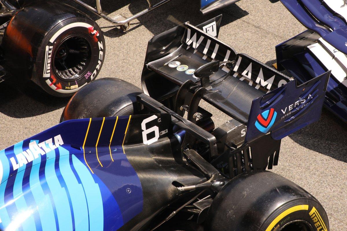 Заднее антикрыло Williams FW43B