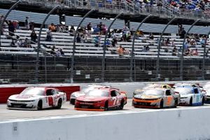Justin Allgaier, JR Motorsports, Chevrolet Camaro Good Humor Ice Cream y Josh Berry, JR Motorsports, Chevrolet Camaro Tire Pros
