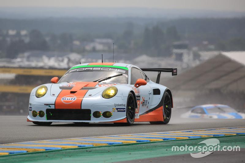 33. #86Gulf Racing Porsche 911 RSR: Michael Wainwright, Adam Carroll, Ben Barker