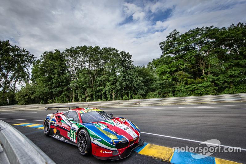 36: #51 AF Corse Ferrari 488 GTE: Gianmaria Bruni, James Calado, Alessandro Pier Guidi