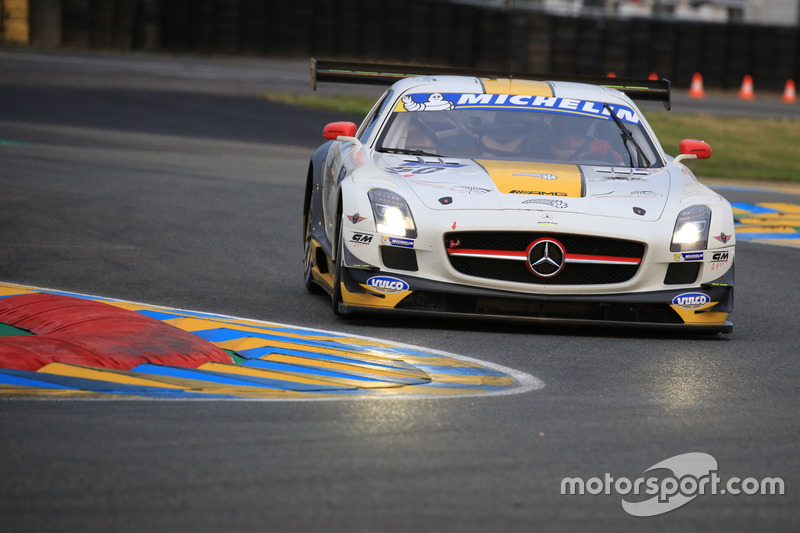 #50 Team Larbre Competition Mercedes-Benz SLS AMG GT3: Christian Philippon, Franck Labescat