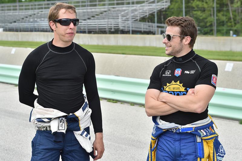 Brad Keselowski e Marco Andretti