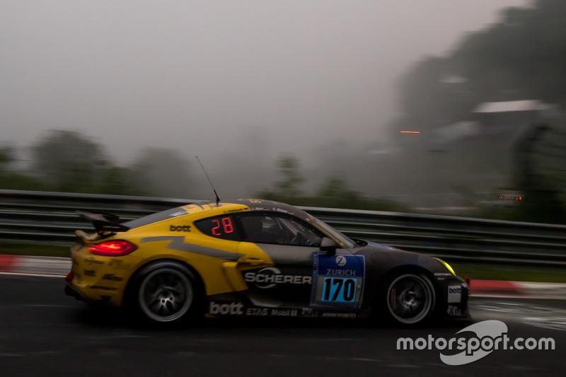 #170 Manthey Racing, Porsche Cayman GT4: Christoph Breuer, Christian Gebhardt, Lars Kern