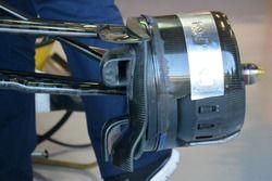 تفاصيل قناة تهوية المكابح الأمامية لسيارة ساوبر سي35