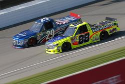 Matt Crafton, ThorSport Racing, Toyota; Tyler Reddick, Brad Keselowski Racing, Ford