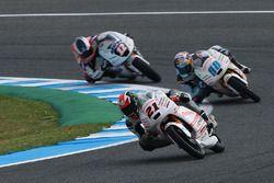 Francesco Bagnaia, Aspar Team Mahindra, Jorge Martin, Aspar Team Mahindra et Albert Arenas, Aspar Team Mahindra