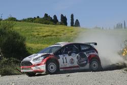 Graziano De Santis, Massimiliano Luzzi, Ford Fiesta R5 #11