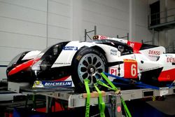Toyota Racing Toyota TS050 Hybrid is prepare for the flight