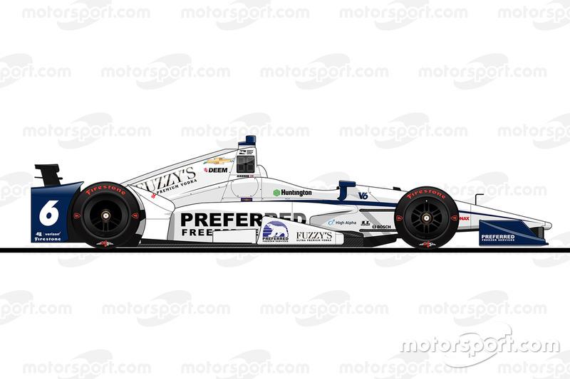 15. Джей-Ар Хильдебранд, Ed Carpenter Racing