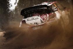 Khalid Al Qassimi, Chris Patterson, Citroën DS3 WRC, Abu Dhabi Total World Rally Team