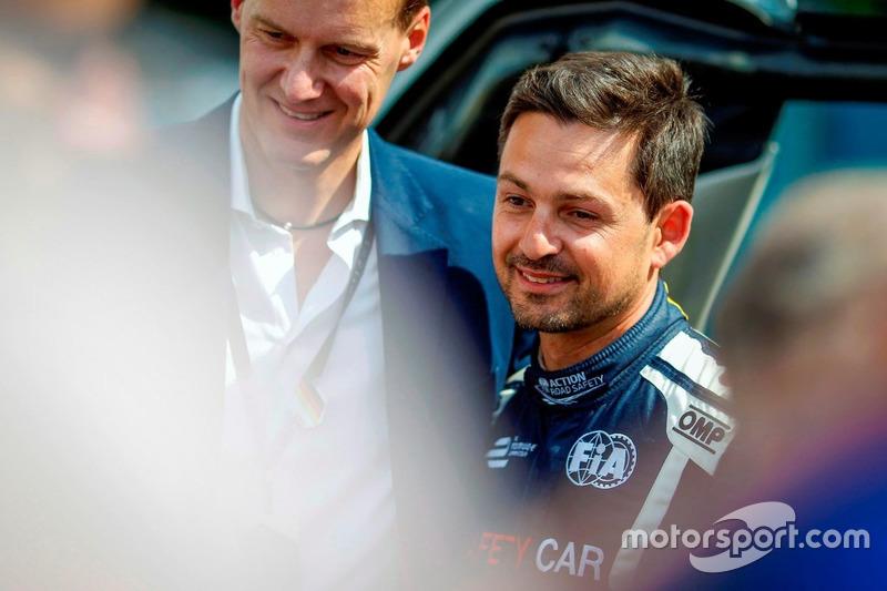 Bruno Correia, pilota della Safety-Car
