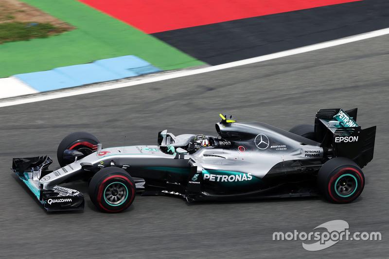 Ніко Росберг Mercedes AMG F1 W07 Hybrid