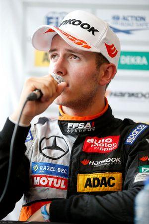 Press conference, Anthoine Hubert, Van Amersfoort Racing, Dallara F312 - Mercedes-Benz,