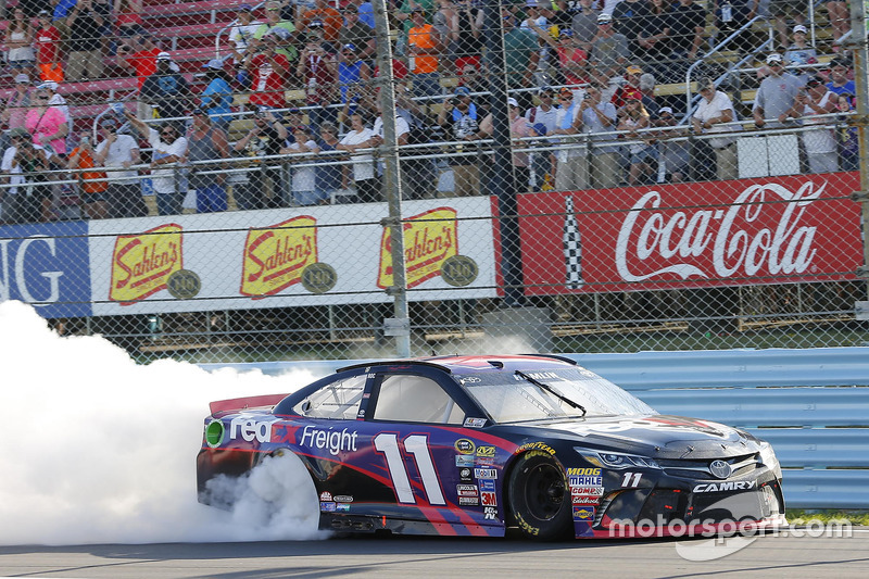 1. Denny Hamlin, Joe Gibbs Racing, Toyota