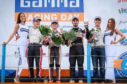 Podium: winner Lando Norris, Josef Kaufmann Racing, second place Dorian Boccolacci, Tech 1 Racing, third place Jehan Daruvala, Josef Kaufmann Racing