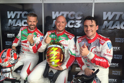 Tiago Monteiro, Rob Huff e Norbert Michelisz