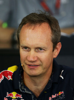Paul Monaghan, Capo ingegnere Red Bull Racing nella conferenza stampa FIA