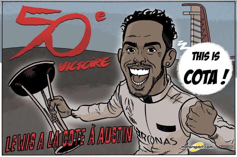 GP des Etats-Unis - This is COTA !