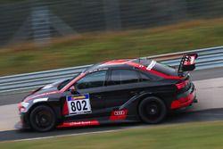 #802 Phoenix Racing, Audi RS 3 LMS: Rahel Frey, Christopher Haase