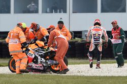 Marc Marquez, Repsol Honda Team, bukás
