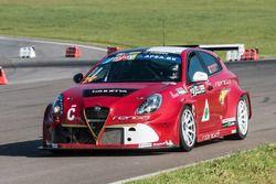 Fabio Marchiafava e Loris Cencetti, Alfa Romeo Giulietta TCR