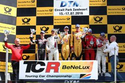 Romain de Leval/Alexis Van de Poele, Delahaye Racing, VW Golf TCR, Sam Dejonghe/Denis Dupont, RACB N