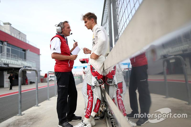 Daniel Grunwald, Engineer con Nico Müller, Audi Sport Team Abt Sportsline, Audi RS 5 DTM