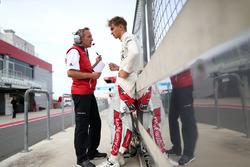 Daniel Grunwald, Engineer with Nico Müller, Audi Sport Team Abt Sportsline, Audi RS 5 DTM