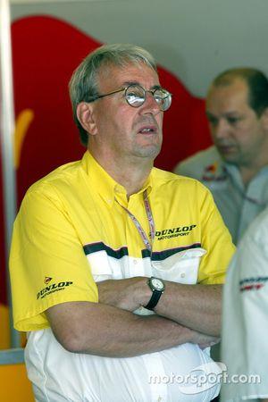Jeremy Ferguson, Dunlop track boss