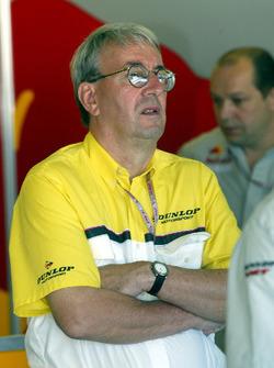 Jeremy Ferguson, Dunlop jefe de pista