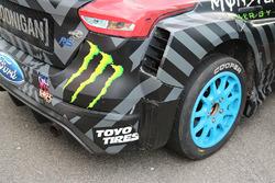 Hoonigan Racing Division Ford detalle