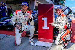 Winners #67 PRT Racing Ginetta LMP3: Ate de Jong, Charlie Robertson in parc ferme