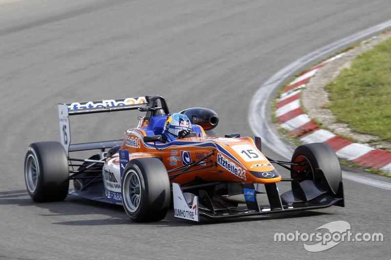 David Beckmann,Kfzteile 24 Mücke Motorsport Dallara F316 – Mercedes