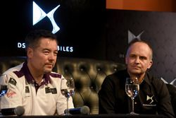 Alex Tai, Virgin Racing, e Xavier Mestelan Pinon, DS Performance