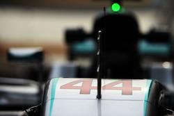 Mercedes AMG F1 W07 of Lewis Hamilton