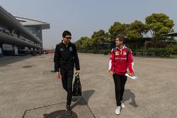 Estaben Ocon&Sebastian Vettel