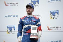 Podium: third place Matevos Isaakyan, SMP Racing