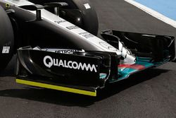 Mercedes AMG F1 W06 Hybrid detalle de la nariz