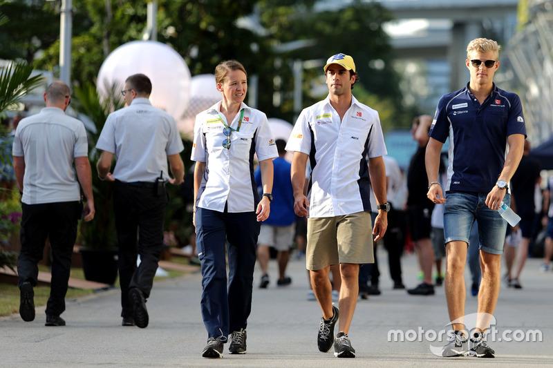 Felipe Nasr, Sauber F1 Team; Marcus Ericsson, Sauber F1 Team